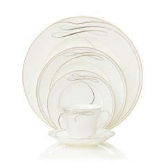 "Waterford Crystal ""Ballet Ribbon"" 5 Piece Place Setting - Bloomingdale's Registry_0"
