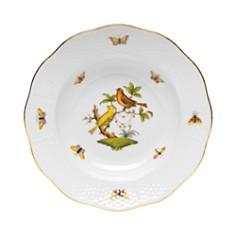 Herend - Rothschild Bird Rimmed Soup Bowl, Motif #6
