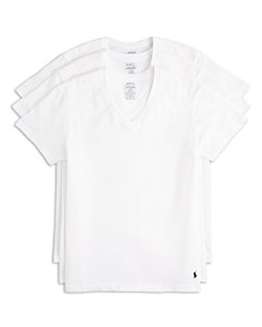 Polo Ralph Lauren - Polo Ralph Lauren Men's 3-Pack V Neck Tees