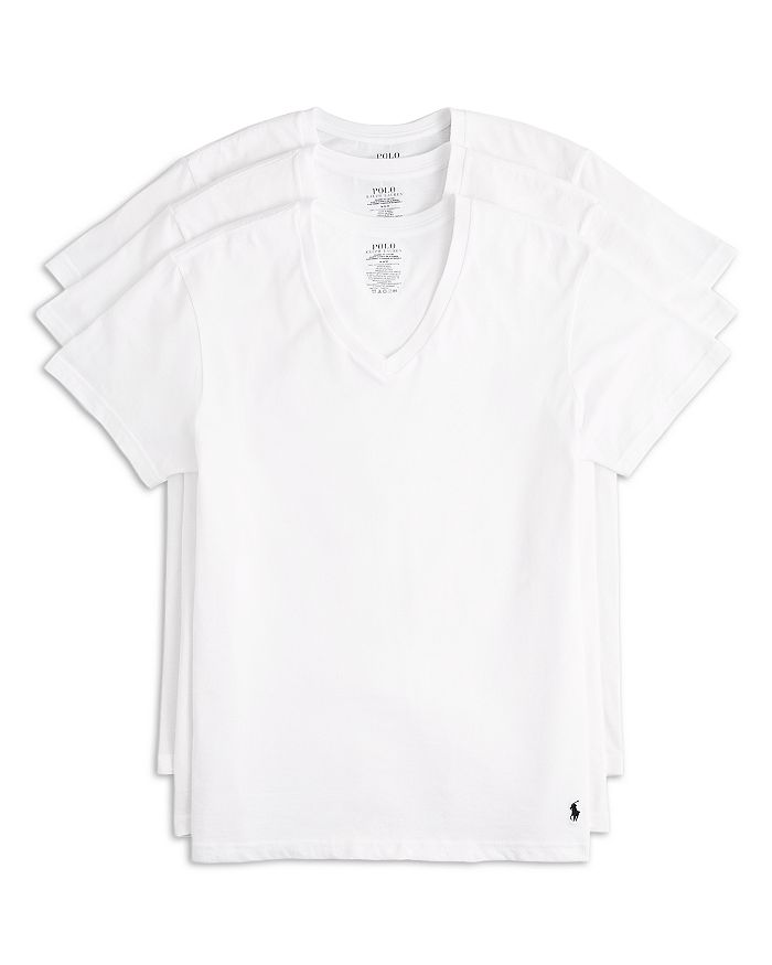 Polo Ralph Lauren - Men's 3-Pack V Neck Tees