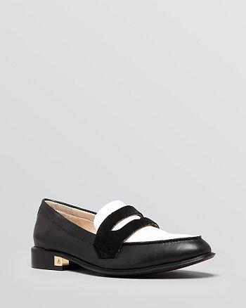 26cff097a5c Sam Edelman Almond Toe Penny Loafer Flats - Bethanie