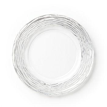 VIETRI - Ruffle Glass Platinum Charger