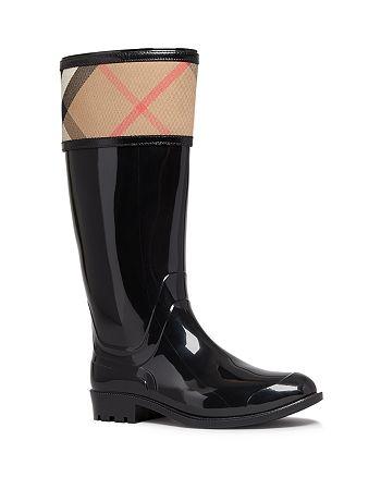 4a35336db22d Burberry - Women s Rain Boots - Crosshill Housecheck