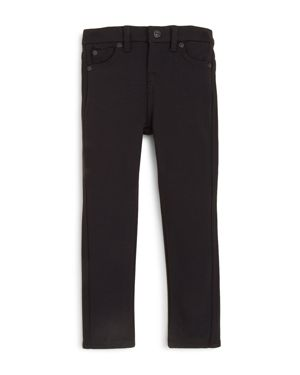 7 For All Mankind Girls' Black Skinny Jeans - Little Kid 1071934