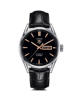TAG Heuer - TAG Heuer Carrera Calibre 5 Day-Date Stainless Steel Watch, 41mm