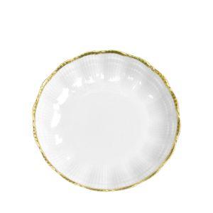 Medard de Noblat Corail Or Coupe Dessert Plate