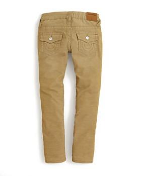 True Religion - Boys' Geno Slim Fit Corduroy Pants - Big Kid