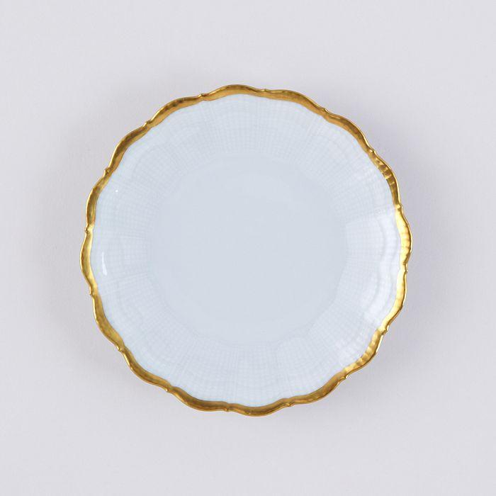 Medard de Noblat - Corail Or Bread & Butter Plate