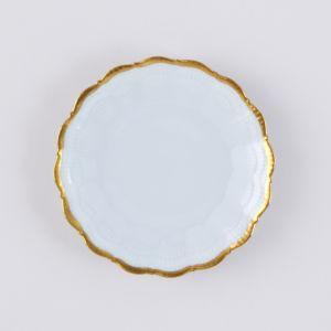 Medard de Noblat Corail Or Bread & Butter Plate