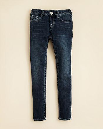 True Religion Girls' Casey Super Skinny Jeans Sizes 7 16