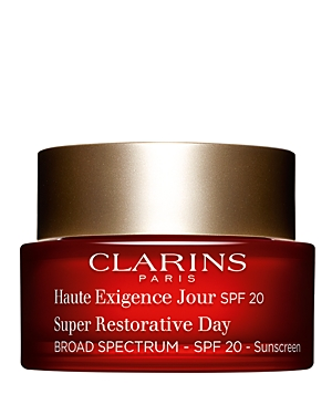 Clarins Super Restorative Day Illuminating Lifting Replenishing Cream Spf 20