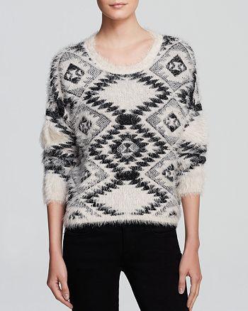 AQUA - Sweater - Aztec Cropped - 100% Exclusive