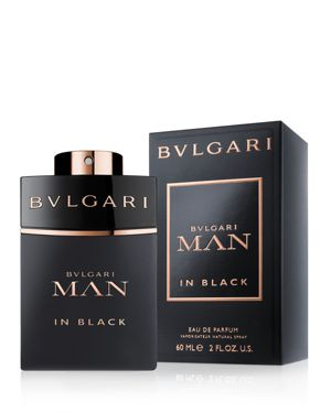 BVLGARI Man In Black 2 Oz/ 60 Ml Eau De Parfum Spray