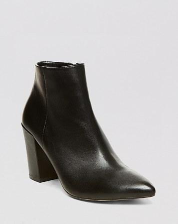 $STEVEN BY STEVE MADDEN Pointed Toe Booties - Lidiaa High-Heel - Bloomingdale's