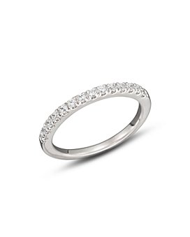 Bloomingdale's - Diamond Band Ring in 14K White Gold, .30 ct. t.w.-.75 ct. t.w. - 100% Exclusive