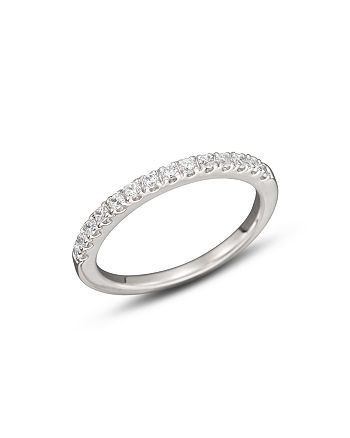 Bloomingdale's - Diamond Band Ring in 14K White Gold, .75 ct. t.w.- 100% Exclusive