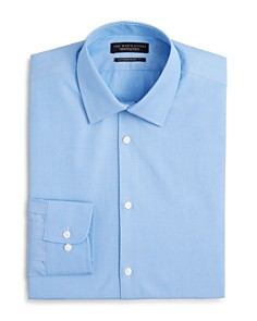 The Men's Store at Bloomingdale's End-on-End Solid Dress Shirt - Regular Fit - 100% Exclusive_0