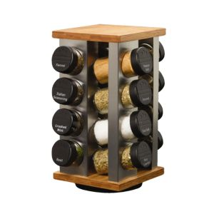 Kamenstein Kam Warner 16-Jar Revolving Spice Rack