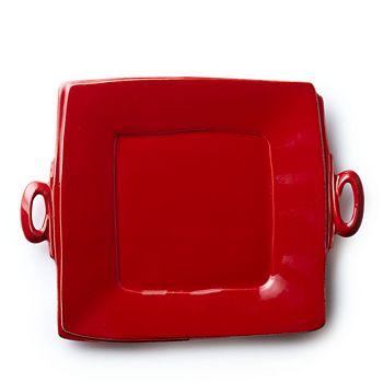 VIETRI - Lastra Square Handled Platter