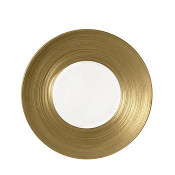 JL Coquet - Hemisphere Gold Charger