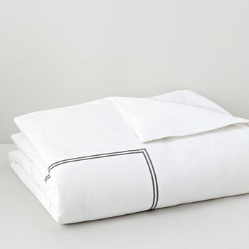 Hudson Park Collection - Italian Percale Twin Duvet Cover - 100% Exclusive