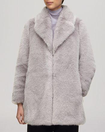Whistles - Coat - Kumiko Short Faux Fur