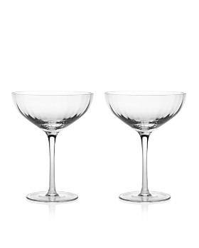 William Yeoward Crystal - American Bar Corinne Cocktail Glasses, Pair