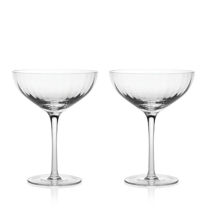 William Yeoward Crystal - American Bar Corinne Cocktail Glasses, Pair