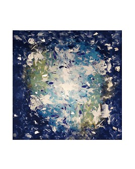 PTM Images - Abstract Whirlpool I Canvas Wall Art