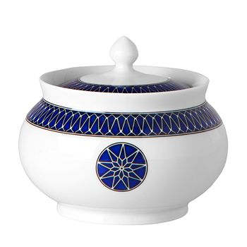 Royal Limoges - Blue Star Sugar Bowl