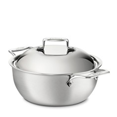 All-Clad d5 Stainless Brushed 5.5-Quart Dutch Oven - Bloomingdale's Registry_0