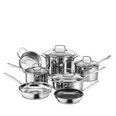 Cuisinart Pro Series Stainless Steel 11-Piece Cookware Set - Bloomingdale's_0