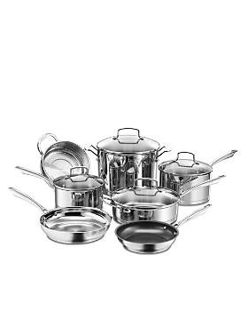 Cuisinart - Pro Series Stainless Steel 11-Piece Cookware Set