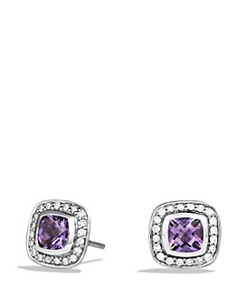 David Yurman - Petit Albion Earrings with Gemstones & Diamonds