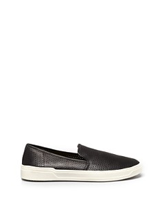 Via Spiga - Women's Galeas Perforated Slip-On Sneakers