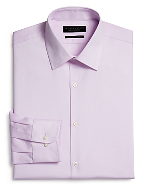 The Men's Store At Bloomingdale's Textured Solid Dress Shirt - Regular Fit - 100% Exclusive In Purple