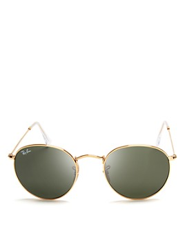 Ray-Ban - Unisex Icons Round Sunglasses, 53mm