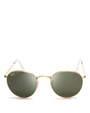 Ray-Ban Round Sunglasses, 50mm