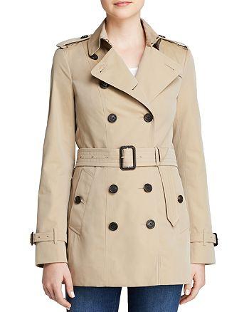 Burberry - Heritage Sandringham Short Trench Coat