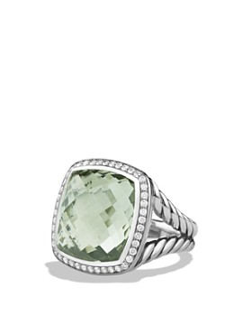 David Yurman - Albion Ring in Sterling Silver with Gemstones & Diamonds, 17mm
