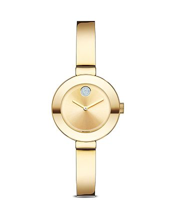 Movado - BOLD Watch with Crystal Dot, 25mm