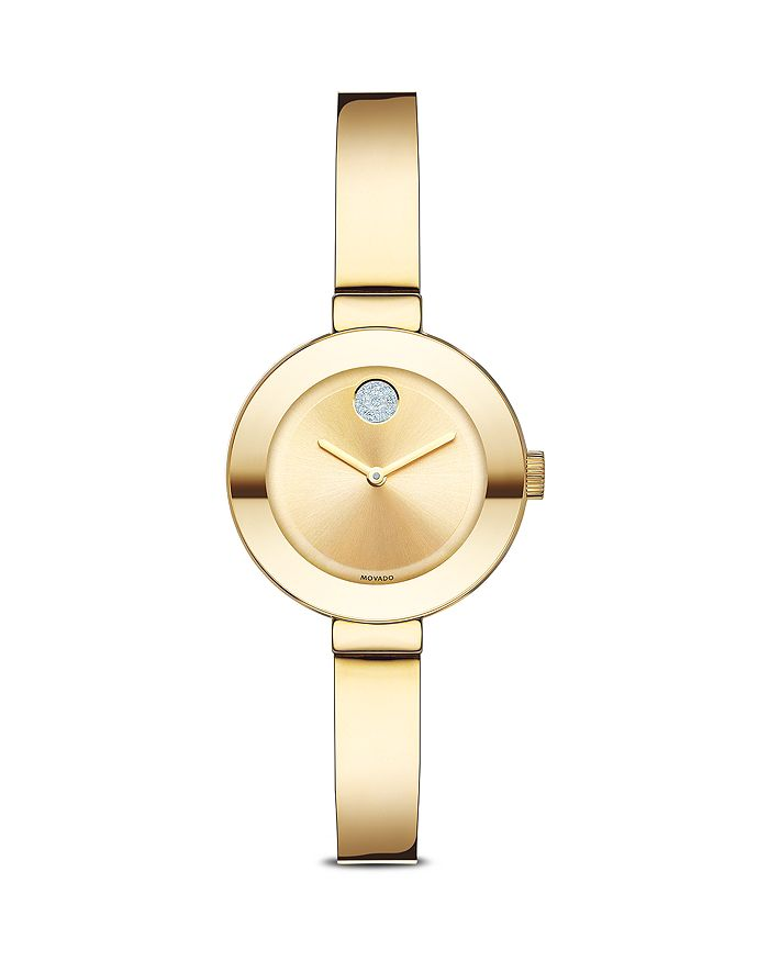 Movado - BOLD with Crystal Dot, 25mm