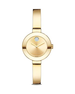 Movado Bold with Crystal Dot, 25mm