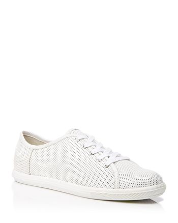 FRENCH CONNECTION - Perforated Leather Sneakers - Finley