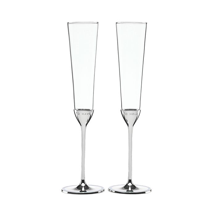 kate spade new york - Take the Cake Toasting Flute, Set of 2