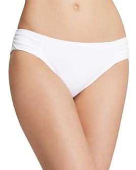 Tommy Bahama - Shirred Hipster Bikini Bottom