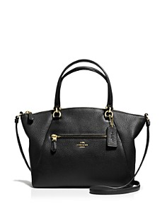 COACH - Prairie Satchel in Pebble Leather