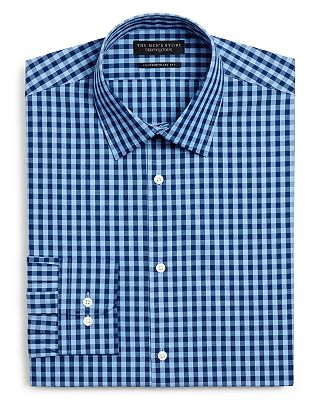 The Mens Store At Bloomingdales Gingham Dress Shirt Slim Fit  Exclusive