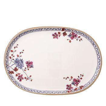 "Villeroy & Boch - Artesano Provencal Oval Fish Plate, 17"""