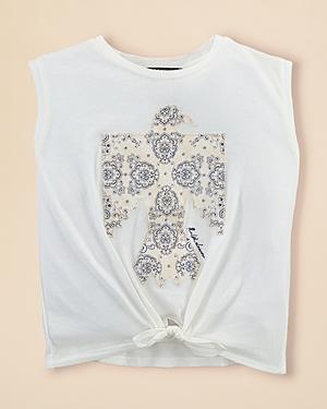 Ralph Lauren Childrenswear Girls Cotton Jersey Graphic Tank  Little Kid